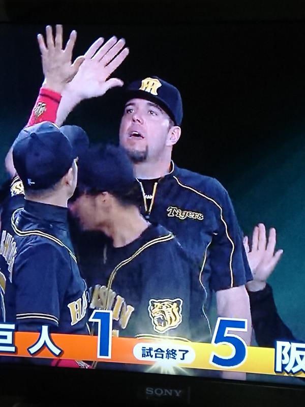 阪神・開幕勝利