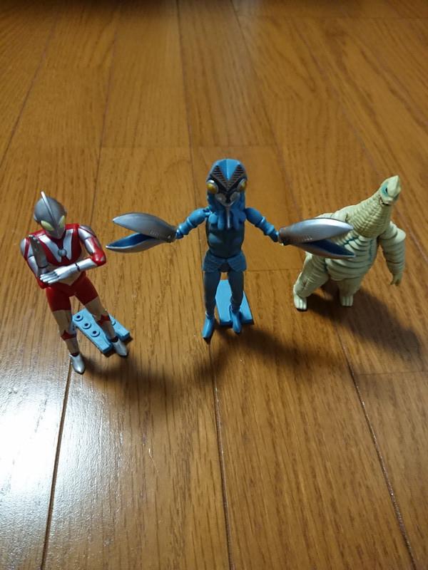 ウルトラマンフィギュア