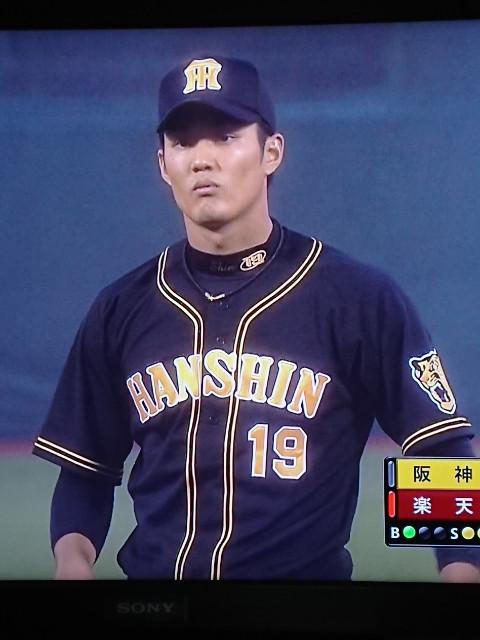 藤浪君、今季初勝利