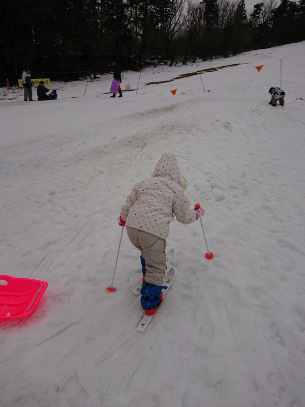 雁が原スキー場へ